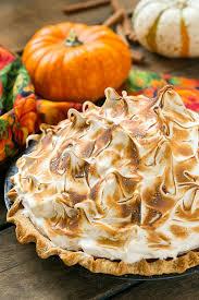 pumpkin meringue pie dinner at the zoo