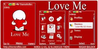 love themes for nokia 5233 love me theme for nokia x2 c2 01 240 320 themereflex