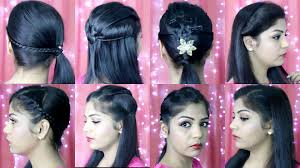 4 quick and easy hairstyles indian party heatless hairstyles superprincessjo you