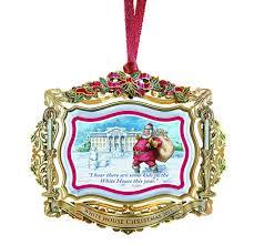 amazon com 2011 white house christmas ornament santa visits the