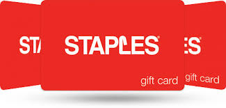 gift cards staples
