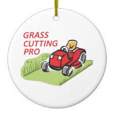 lawn mower mowing tree decorations ornaments zazzle
