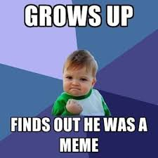 Win Kid Meme - finds out he is a meme justpost virtually entertaining