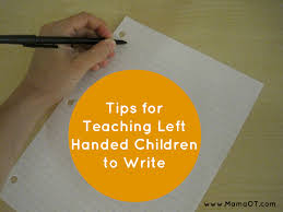 an occupational therapist u0027s tip for teaching left handed kids to