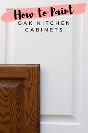 how to paint stained oak cabinets how to paint stained oak cabinet doors honey built home