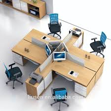 Computer Desk Work Station Superior Quality Cheap Commercial Furniture Melamine Computer Work