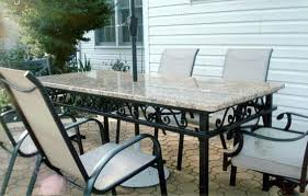 Wrought Iron Dining Table And Chairs Wrought Iron Dining Room Set Jcemeralds Co