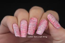 nuthin u0027 but a nail thing 40 great nail art ideas glitter topper