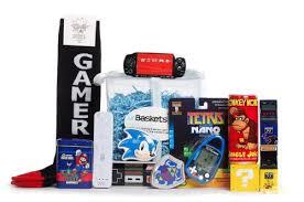 gamer gift basket bargain the gamers gotta unbasket