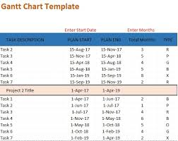 free gantt chart excel template download spreadsheettemple