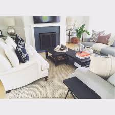 Pottery Barn Tanner Coffee Table by Hamptons Home Makeover Clean Crisp And Coastal Casual Pottery Barn