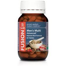 men s fusion health mens multi advanced sportys health