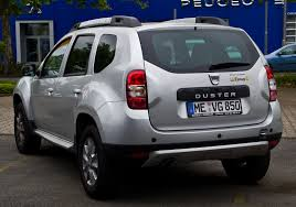 renault duster 2014 file dacia duster tce 125 4x2 prestige facelift u2013 heckansicht