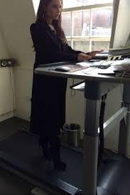 victoria beckham u0027s treadmill desk is pure genius
