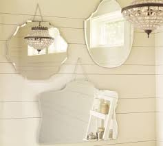 Pottery Barn Mirrored Vanity Small Mirror Is 22 Inches Wide And 20 Inches High Would Go Almost