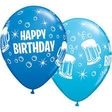 birthday balloons for men birthday balloons stag supplies balloon