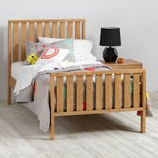 Cargo Kids Twin Bed Natural The Land Of Nod - Land of nod bunk beds
