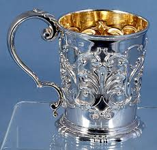 Baby Silver Gifts 1003 Best Silver Baby Christening Cups Porringers Rattles