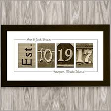 personalized anniversary gifts personalized wedding date gift personalize for free gift wrapped