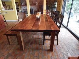dawn u0027s reclaimed wood farmhouse dining table fama creations