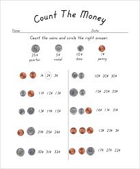 12 money math worksheet templates u2013 free word pdf documents