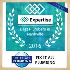 nashville plumber fix it all plumbing nashville tn