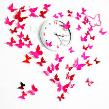 Online Get Cheap Wall Decals Clocks Aliexpresscom Alibaba Group - Cheap wall stickers for kids rooms