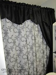 White Lace Shower Curtain With Valance by Curtains X Default Jcpenney Lace Curtains Satiating Jcpenney
