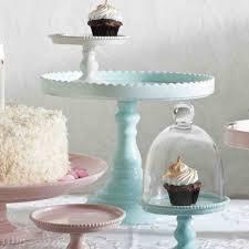 pedestal cake stand 9 inch blue porcelain bon bon pedestal cake stand