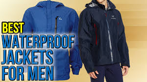 best cycling rain jacket 10 best waterproof jackets for men 2016 youtube