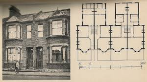 Edwardian House Plans by A Vintage 4plex Plan Borderline Properties Pinterest