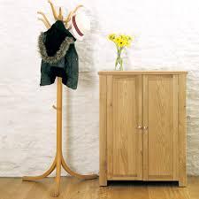 Contemporary Hallway Furniture by Aston Oak Shoe Cupboard Cvr20a
