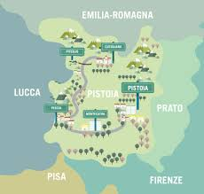 Lucca Italy Map Exploring Pistoia And Its Surroundings Cct Seecity