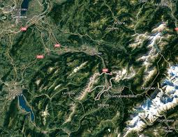 Chrome Maps Hiking With The Mont Blanc In View U2013 Decathlon Kakis
