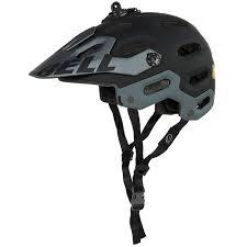 matte black motocross helmet bell super 2 mountain bike helmet for men and women save 63