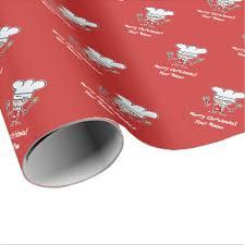 custom christmas wrapping paper custom christmas wrapping paper with chef christmas wrapping