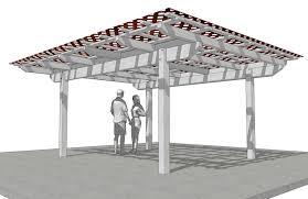 Free Standing Patio Plans Patio Building Plans
