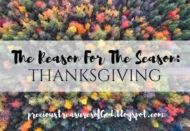 the reason for the season thanksgiving more precious than gold