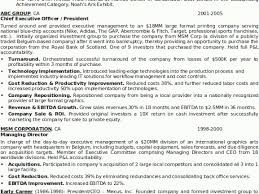 Sample Senior Executive Resume by Teamwork Cover Letter