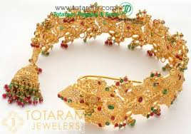 gold hair accessories gold gold choti 22k gold hair accessories