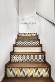 Home Stairs Decoration 9 Diy Staircase Decorations Sure To Amaze Stenciled Stairs