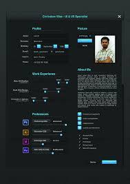 Ui Designer Resume Sample by Ui Designer Resume By Cagdastakis Graphicriver