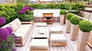 rooftop penthouse garden ideas youtube