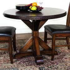 small rustic dining table square oak gunfodder com