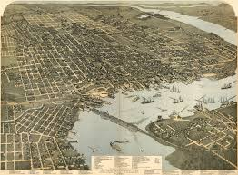 Map Of Jacksonville Florida by Birdseye View Of Jacksonville Florida 1893