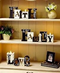 Word Blocks Home Decor 169 Best Home Decor Images On Pinterest Decorative Accents Led