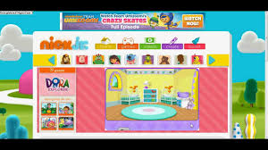 nick jr kids games dora the explorer with yasso smurf youtube