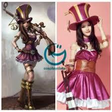 League Legends Halloween Costume League Legends Lol Caitlyn Sheriff Piltover Cosplay