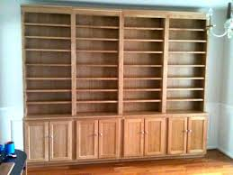 Cherry Bookcase With Glass Doors Cherry Bookcase With Glass Doors Headboard Wood Wall Shelves