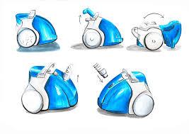 vacuum cleaner patrycja waleczkowska product sketching